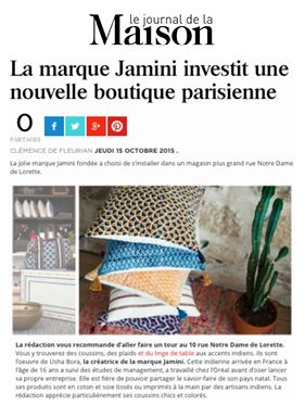 Le journal de la Maison site
