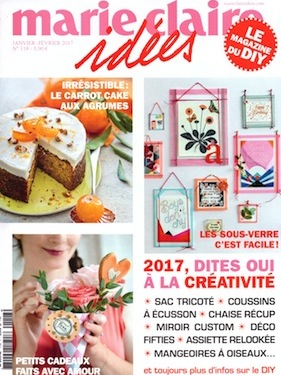 Marie Claire Idees janvier 2017