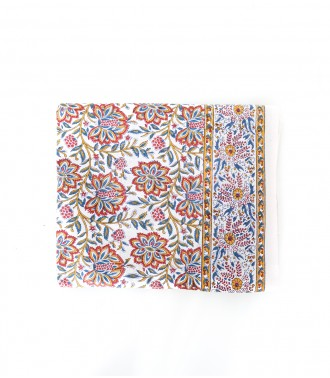 Printed tablecloth Louise Offwhite