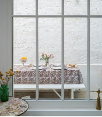 Indian tablecover in cotton