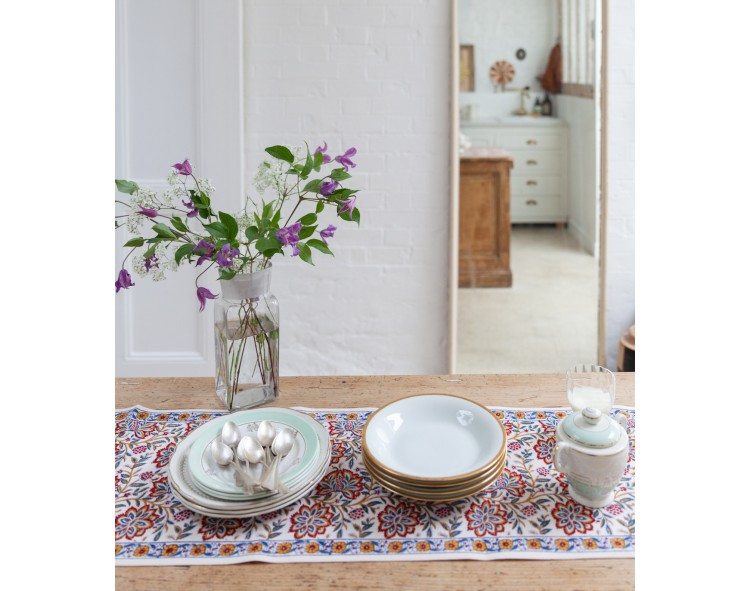 Table runner Louise Offwhite
