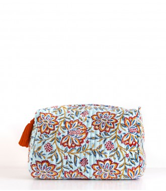 Hand printed pouch