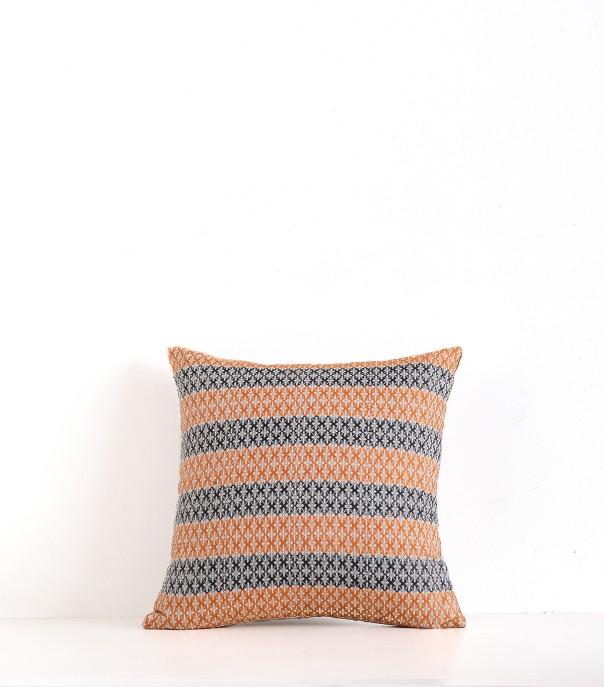 Hand-woven cushion cover Magali offwhite