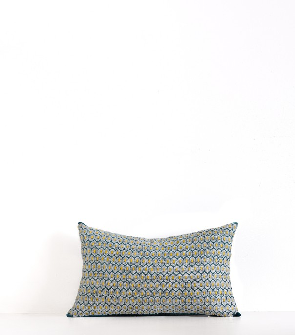 Maloti duck blue pillowcase