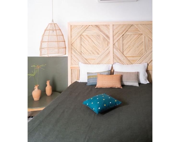 Hand-woven cushion covers
