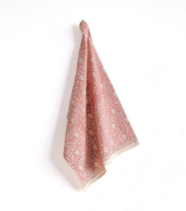 Towel dusty pink