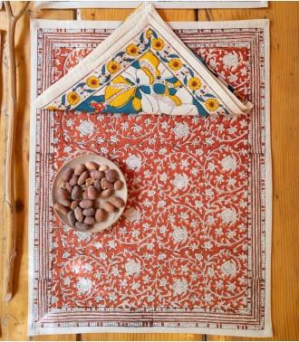 terracotta tablemat