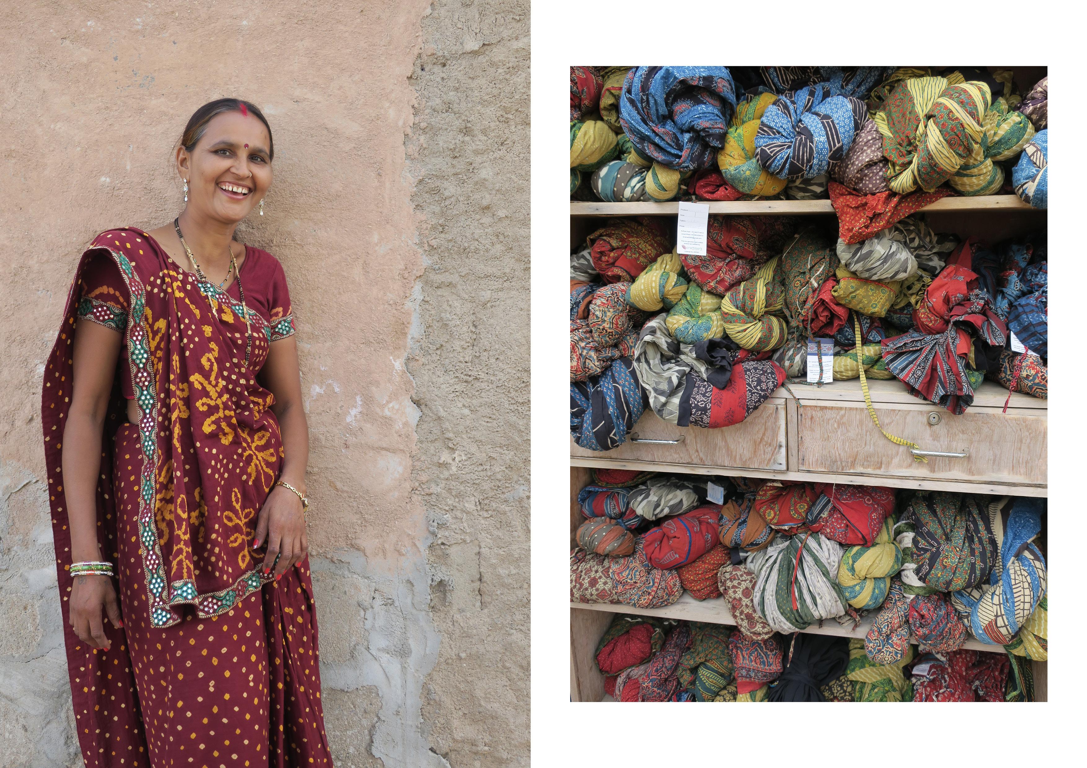 Kutch woman wearing a