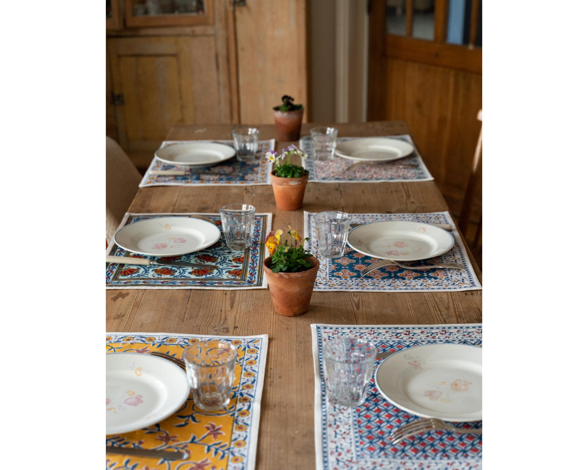 table mats jamini