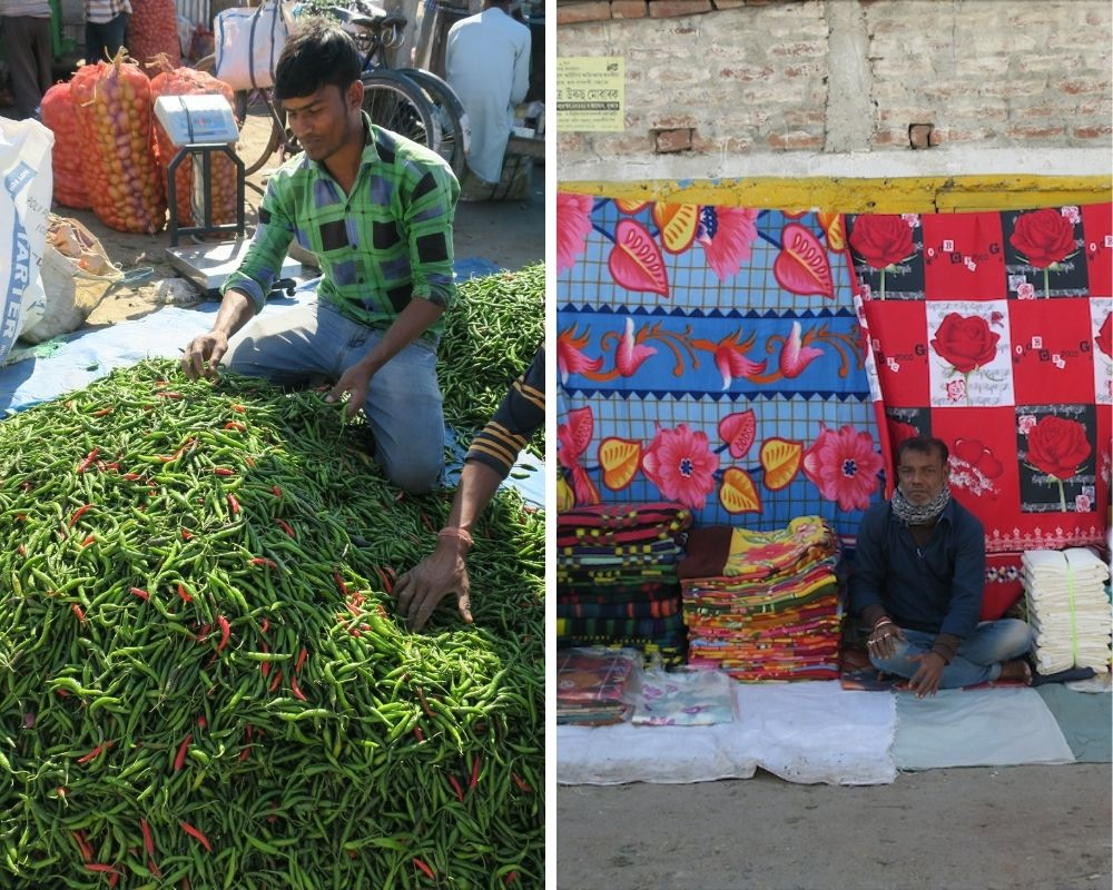 local market Assam