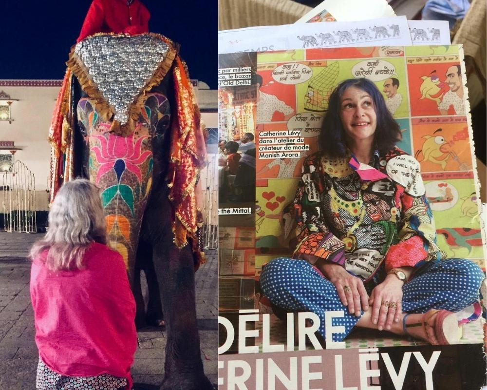 catherine levy in india