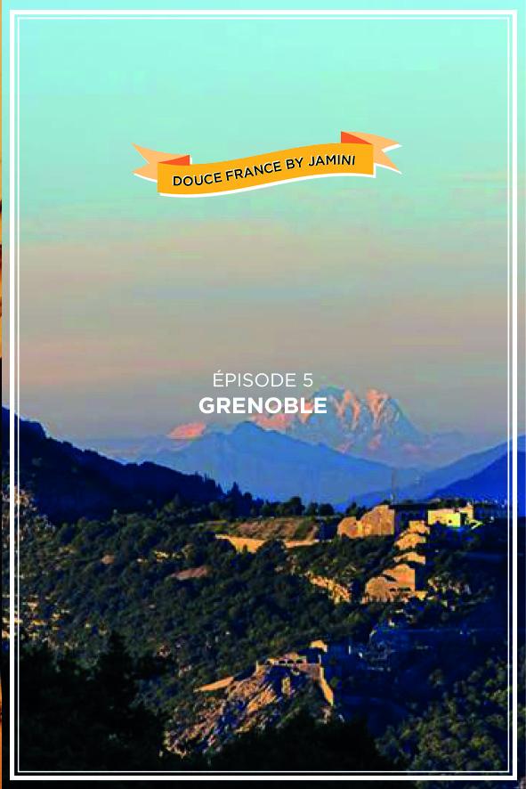 carte postale grenoble par Jamini