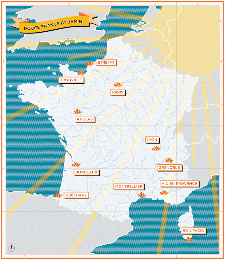 cmap of france
