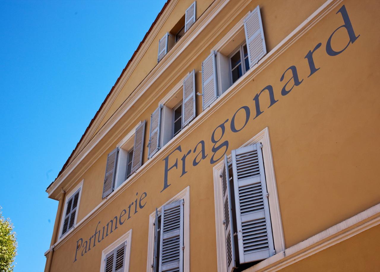 Fragonard headquarters in Grasse