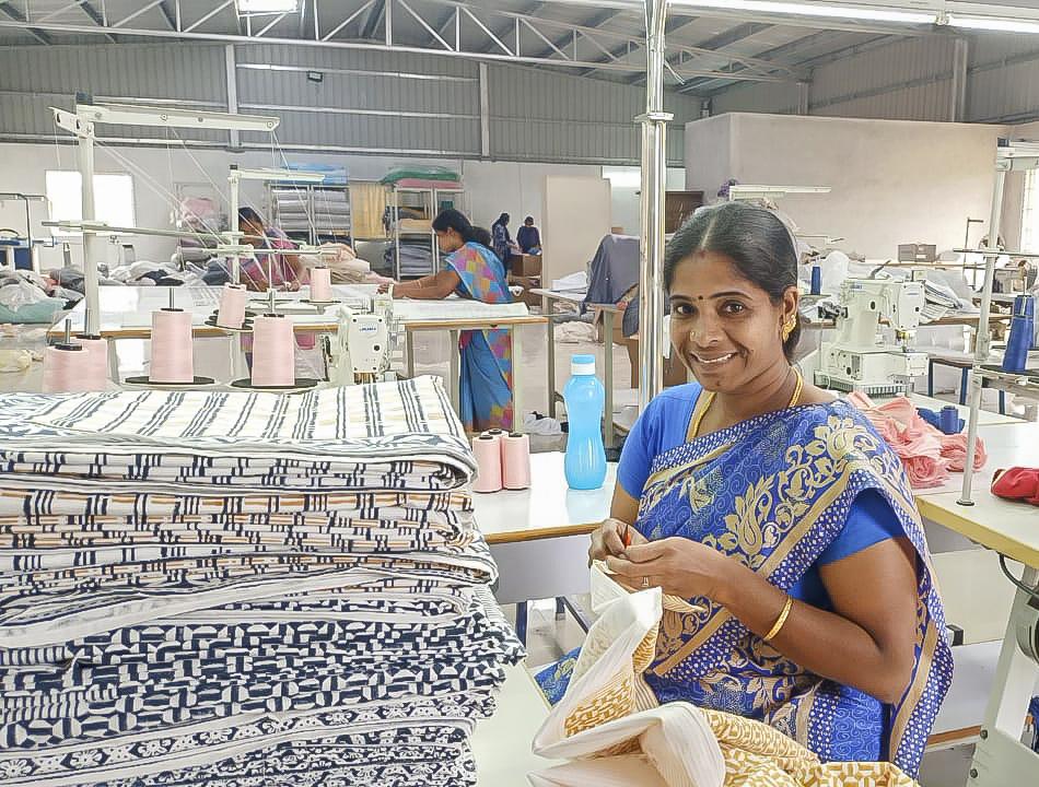 organic textile factory