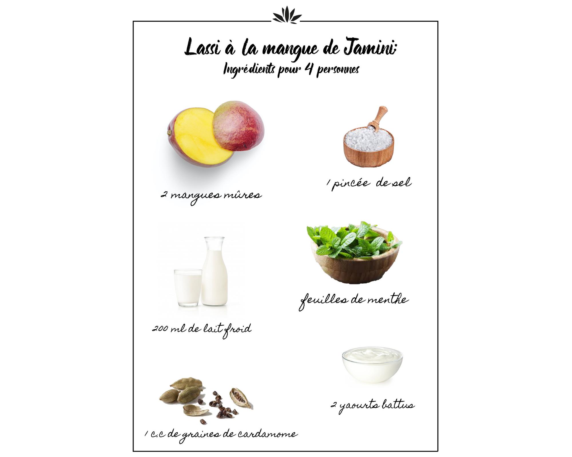 recette lassi mangue