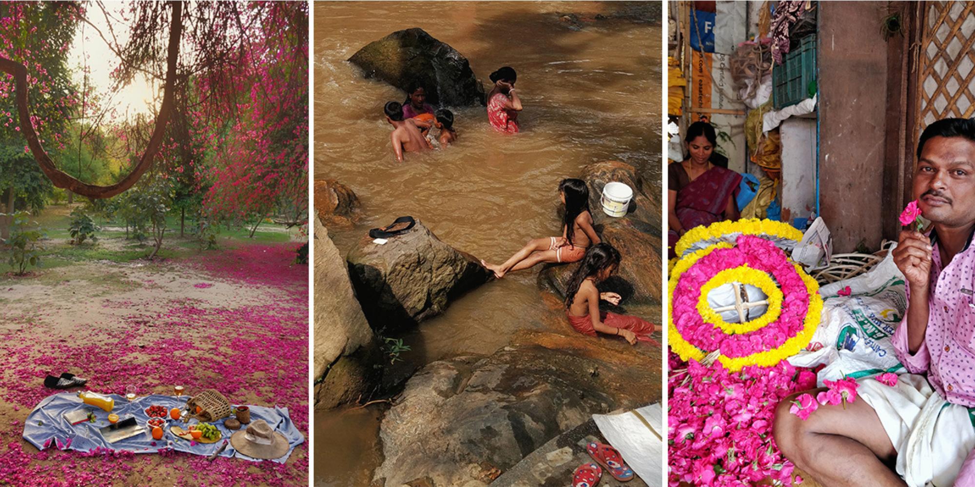 differentes scenes de vie en inde