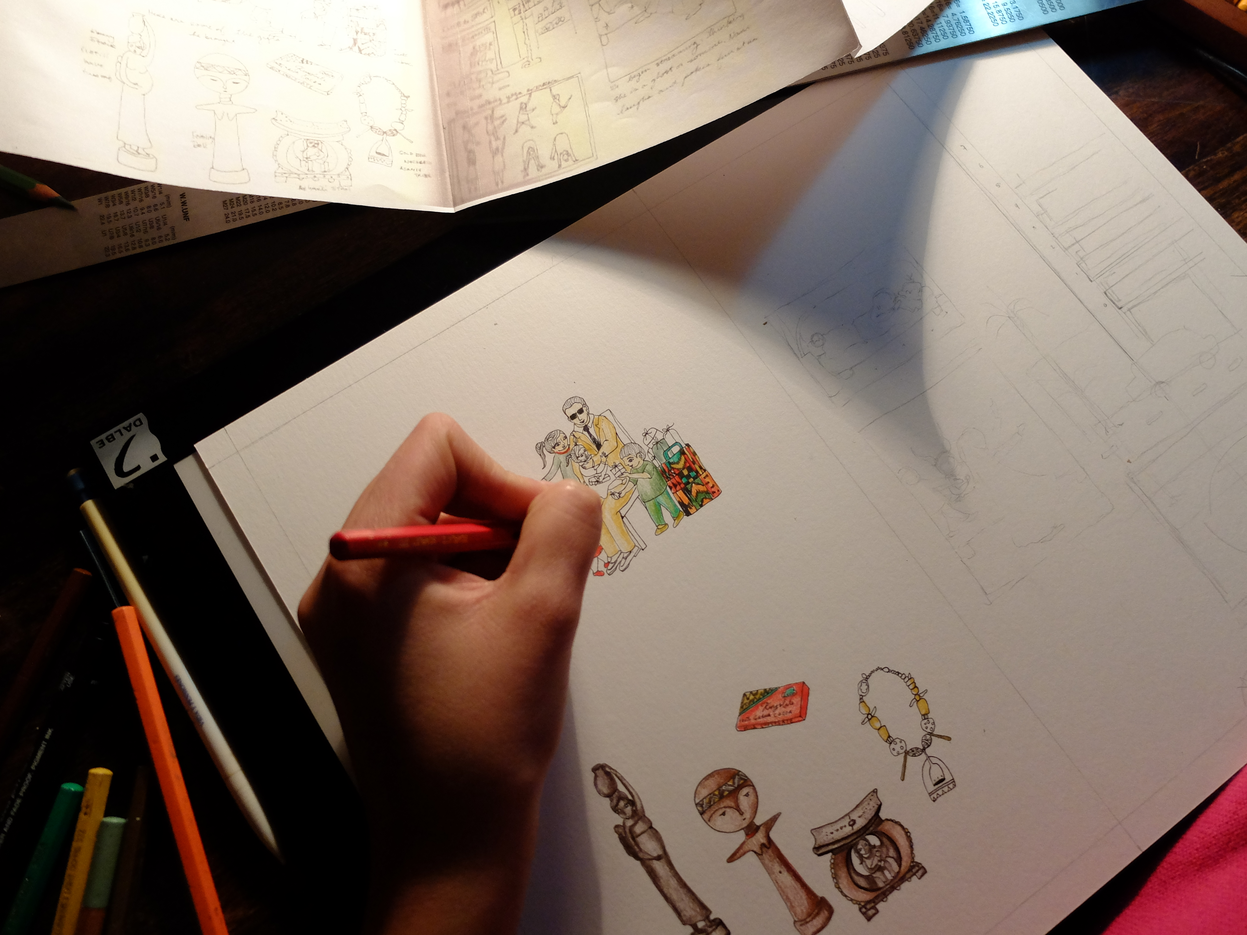 a drawing by Karishma