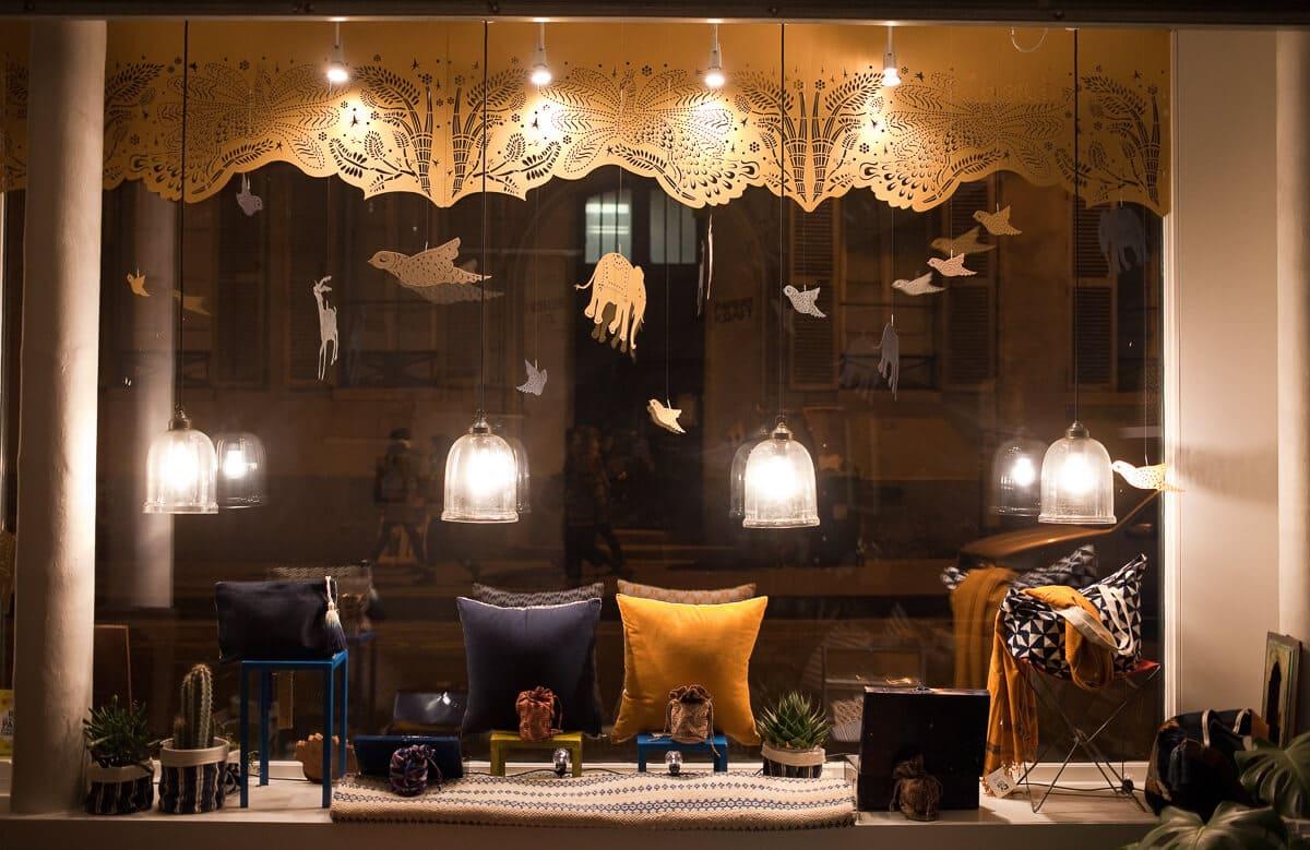 Decoration Noel boutique Jamini