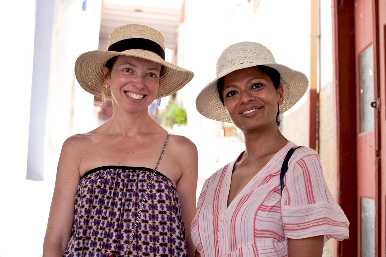 Usha Bora and Lise Bienaimé