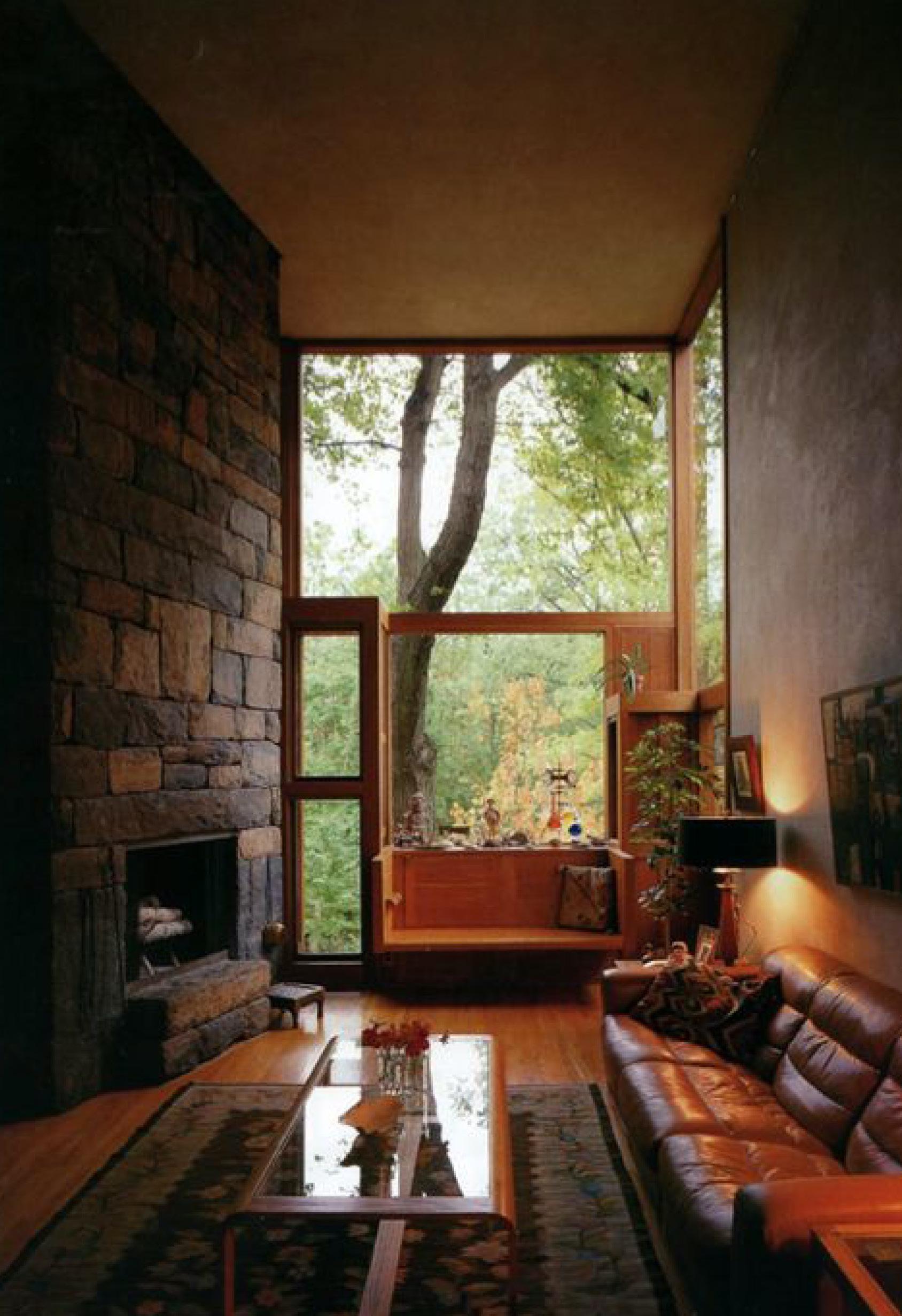 warm interior decoration