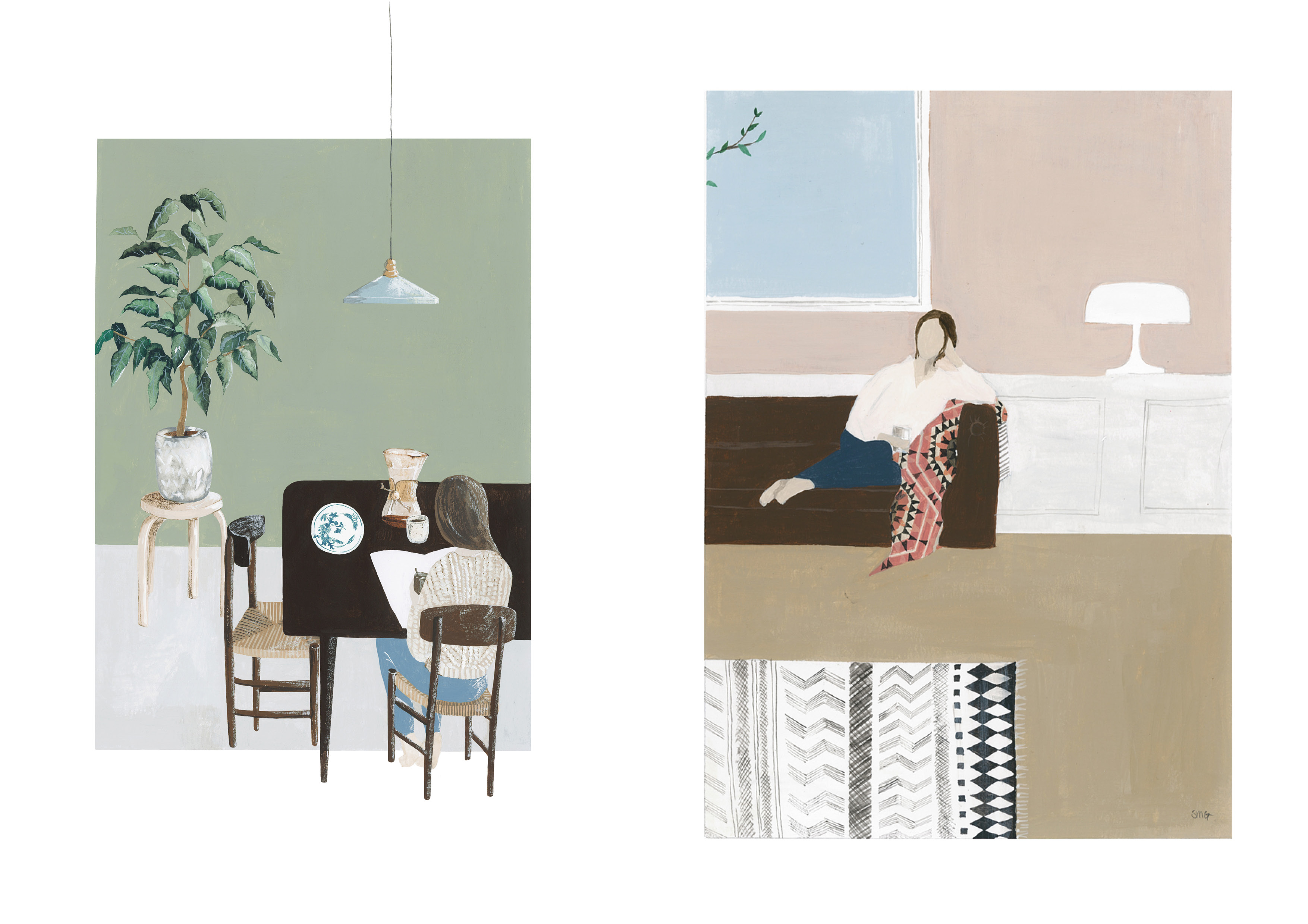 illustrations from Saar Manche