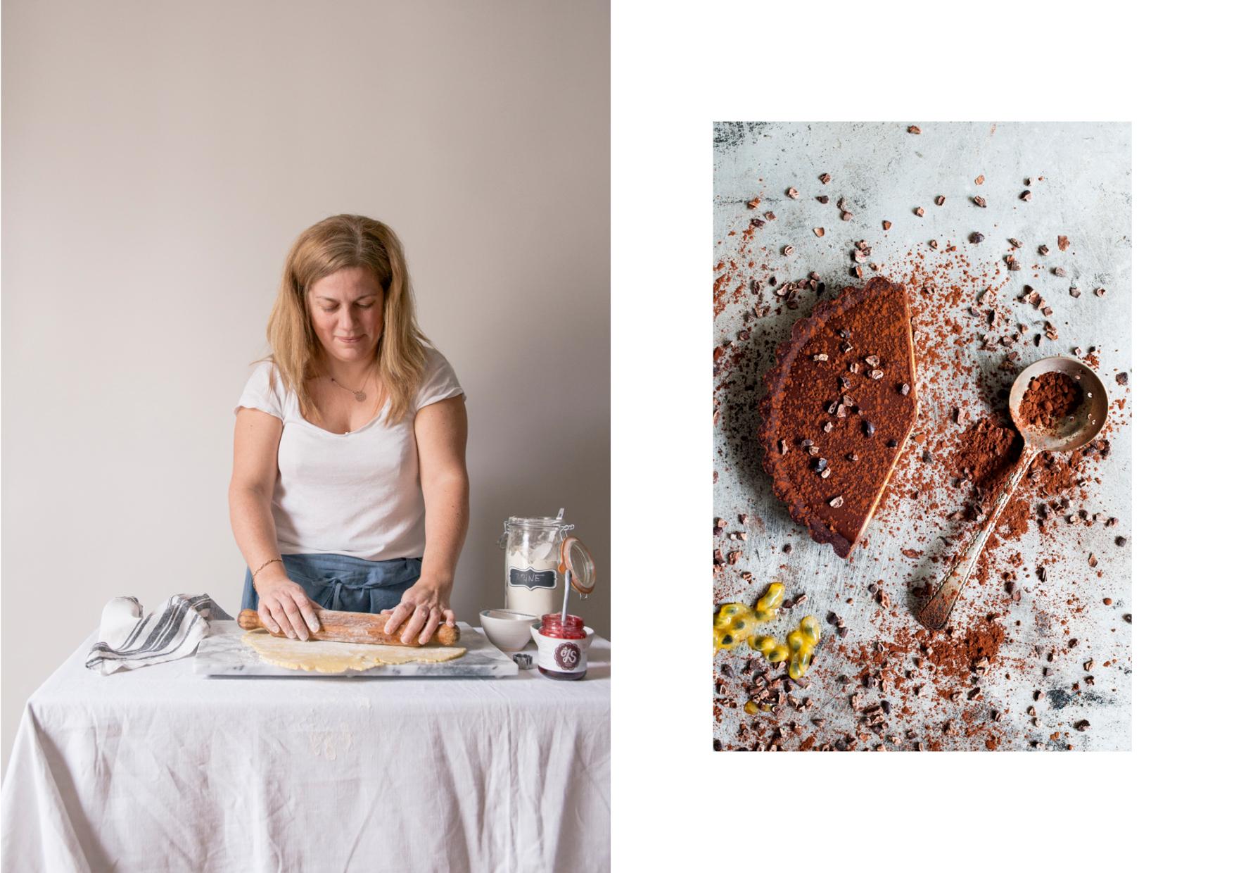 Sandrine Fauconnet cooking