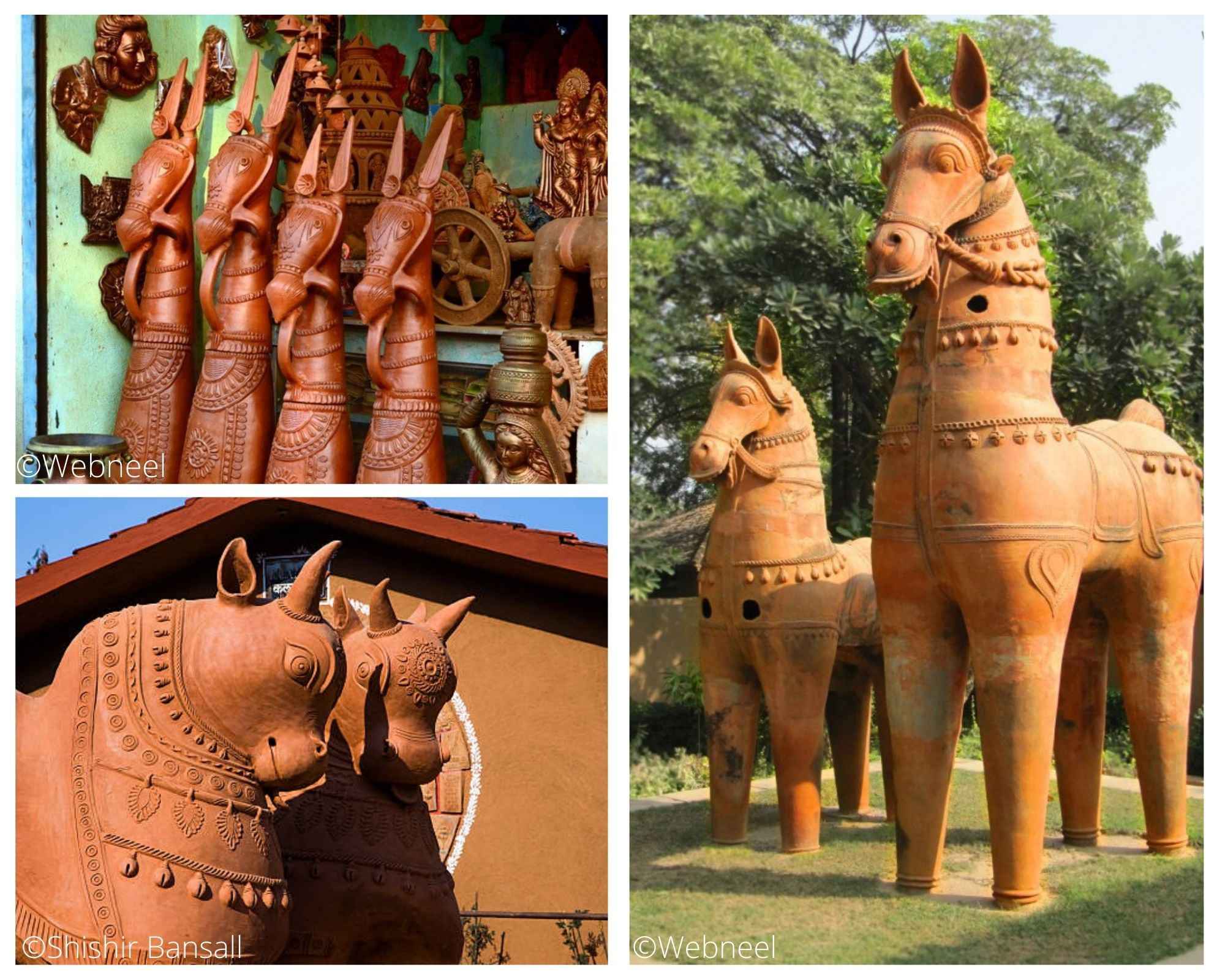 terracotta objects in India