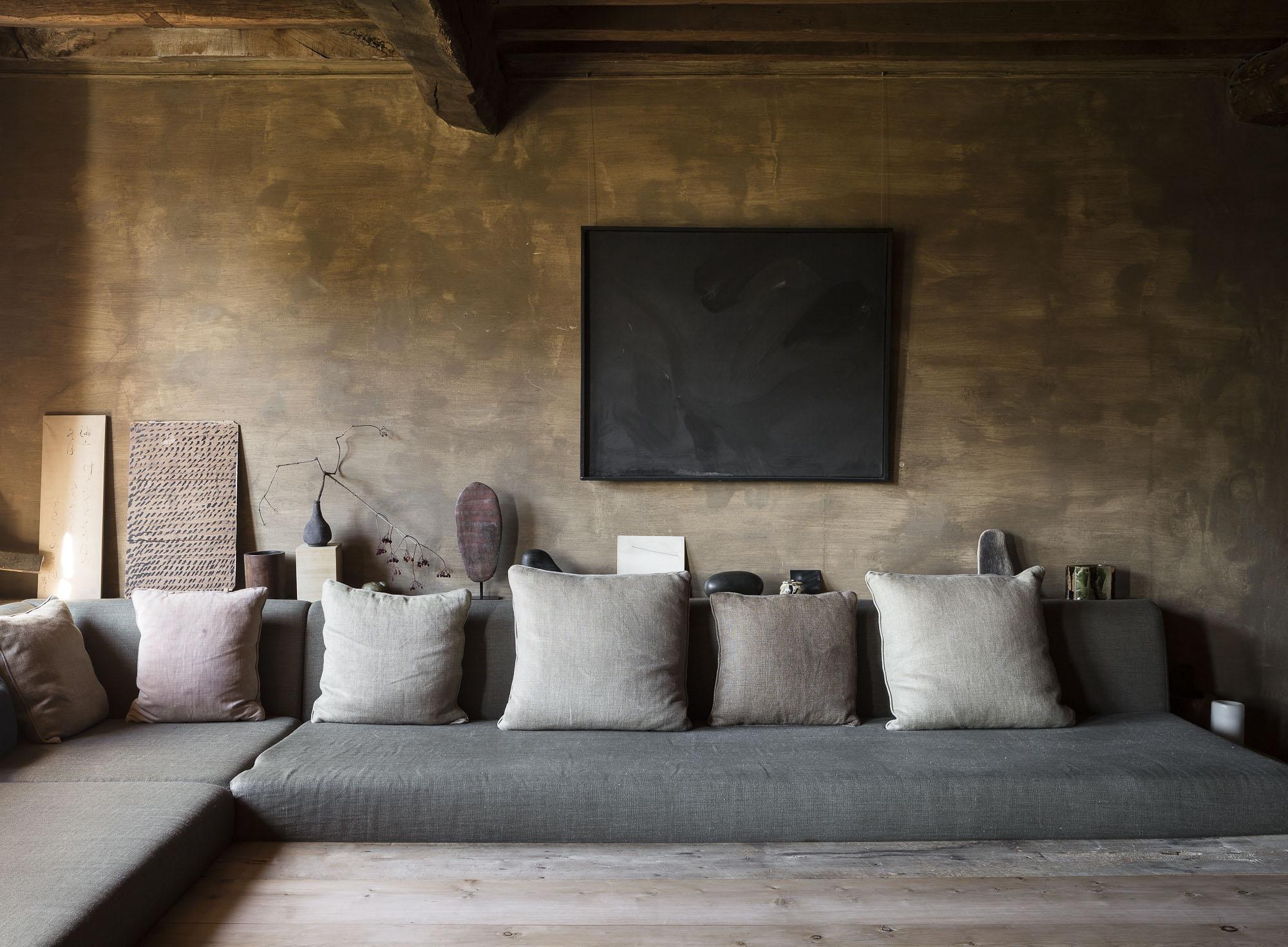 Wabi sabi style room